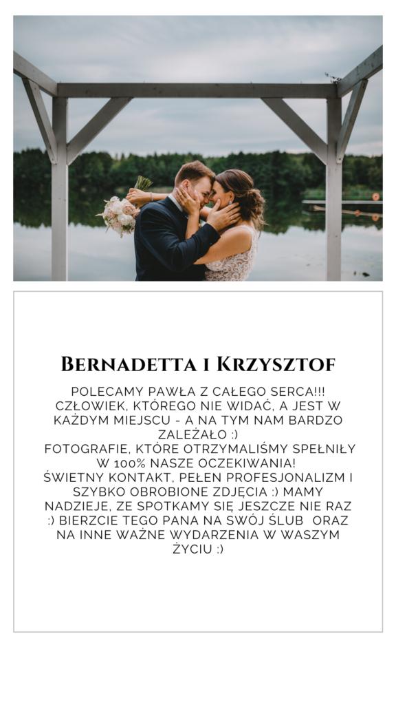 Opinia Bernadetty i Krzysztofa