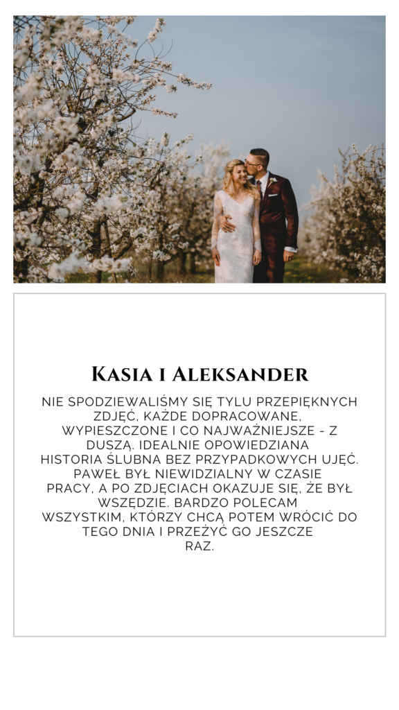 Opinia Kasi i Aleksandra